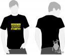 T-shirt DROP negru