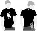 T-shirt DROP negru - drop