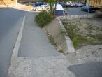 Bank + downhill