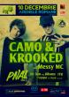 10 Decembrie CAMO + KROOKED @ Arena DNB