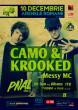 10 Decembrie CAMO + KROOKED @ Arena DNB