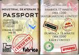 Industrial skatepark's Passport