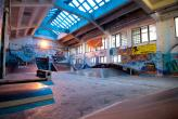 Industrial Skatepark Fabrica Bucuresti