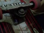 VAnd axe independent  cu roti ricta pink si rulmenti toy machine abec 7