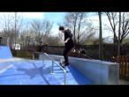 """Alexandru Costin - Kickflip Bs 50-50 @ Calarasi """"Skatepark Calarasi"""""""