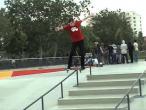 "Alexandru Costin - Bs Boardslide @ Bucuresti ""Skatepark Tineretului"