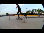 Alexandru Costin - line manual kickflip out, bs boardslide @ Tineretului Skatepark Bucuresti