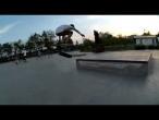 Mihai Tuhari - 50-50 varial heelflip out @ Tineretului Skatepark Bucuresti