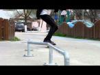 """Alexandru Costin - Boardslide z-rail @ Calarasi """"Skatepark Calarasi"""""""