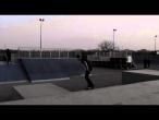 Alexandru Costin - kickflip in bank, varial kickflip body varial @ Bucuresti Skatepark Tineretului