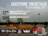 Boule Skate Team Demo & G.O.S. Contest @ Bucuresti - Skatepark Tineretului