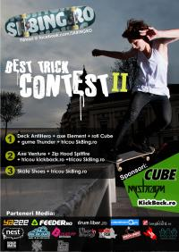 Sk8ing.ro best trick video contest