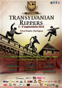 Transylvanian Rippers @ Cluj-Napoca, Cluj - Skatepark Rozelor