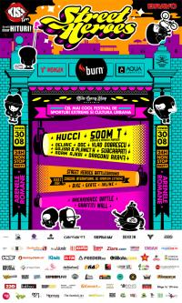 STREET HEROES Lucky 13 fueled by burn @ Bucuresti - Arenele Romane