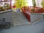set 13 trepte + rail
