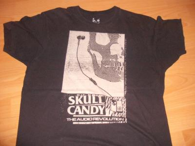tricou skull candy