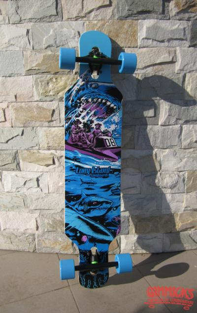 (stoc epuizat) Longboard Long Island - Shark (Medusa) 2014