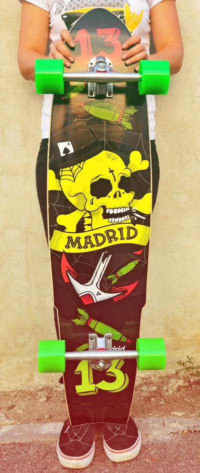 Longboard Madrid Lucky 13