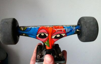 Axe Skate Destructo + Roti