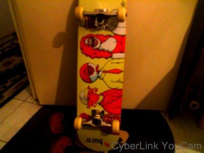Skate Burn