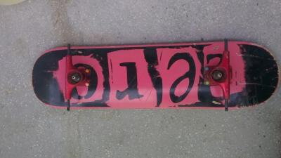 Deck Zero punk pink 7.75'' CA NOU
