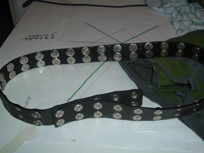 Zero Button Belt