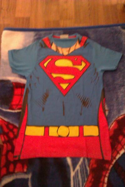 Tricou SUPER-MAN  LOGO GIGANT NOU