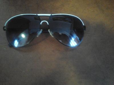 ochelari unisex model pilot margine alba