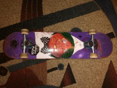 skate almost fruit face impact