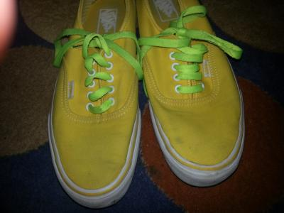 Vans Authentic Yellow