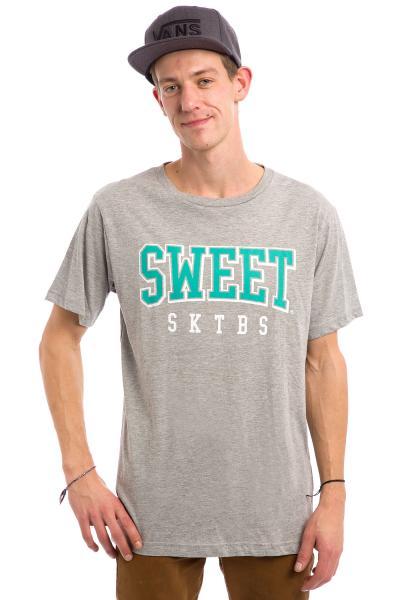 Tricou SWEET SKTBS ARCH T-SHIRT (GREY MELANGE)