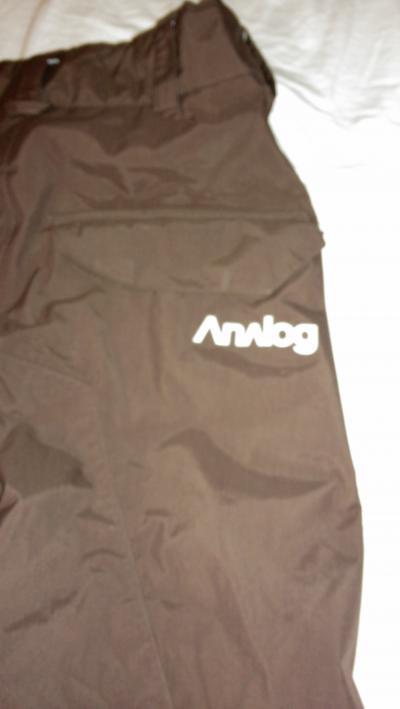Vand pantaloni snowboard analog !