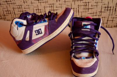 DC Girls Rebound White&Purple marimea 38.5