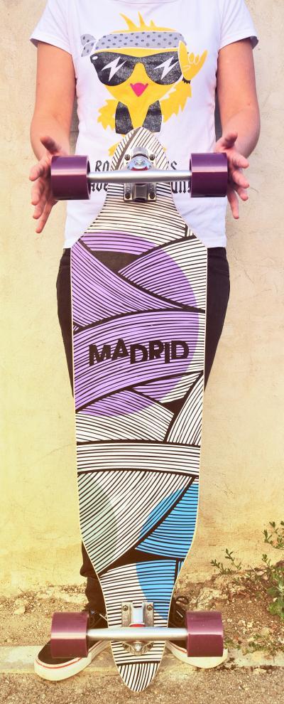 Longboard Madrid Lines 38