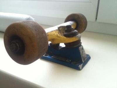 Thunder Gerwer Rocket + Roti Minilogo si rulmentii