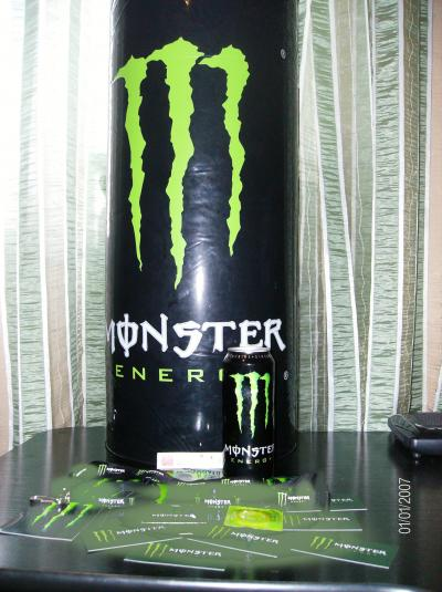 Balon monster energy