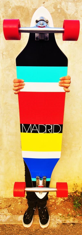 Longboard Madrid Stripes 38