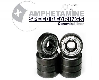 AMPHETAMINE BEARINGS - CERAMIX SILVER