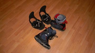 Vand Boots Burton Ruler 41+Legaturi Burton Mission Dark M