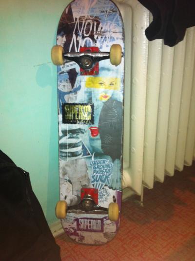 Vand Skate Complet !!