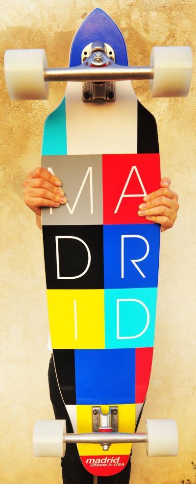 Longboard Madrid Lego 36