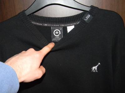 LRG sweater